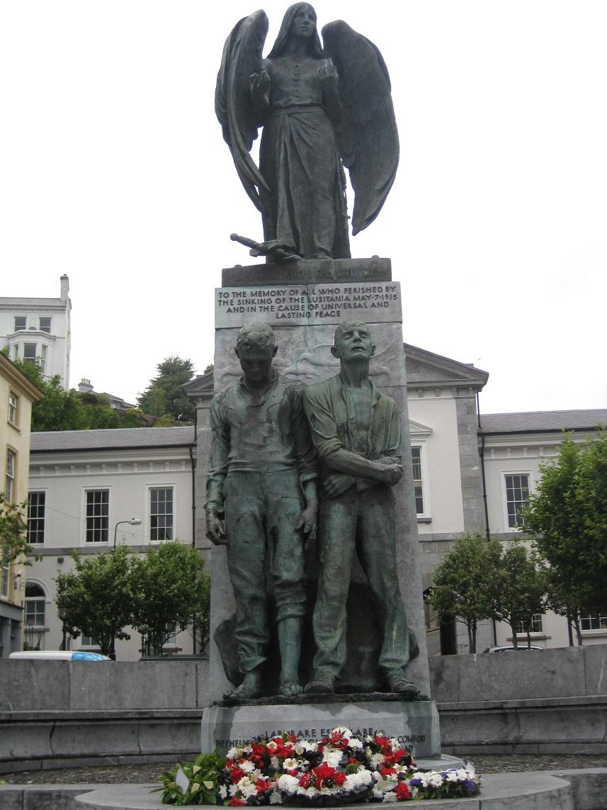 Lusitania Statue