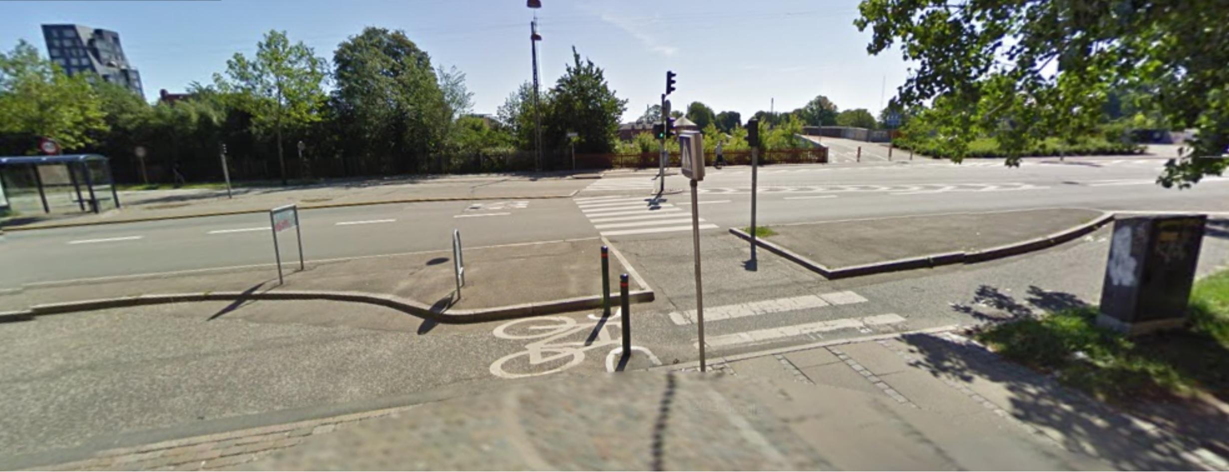 Copenhagen Street Crossing