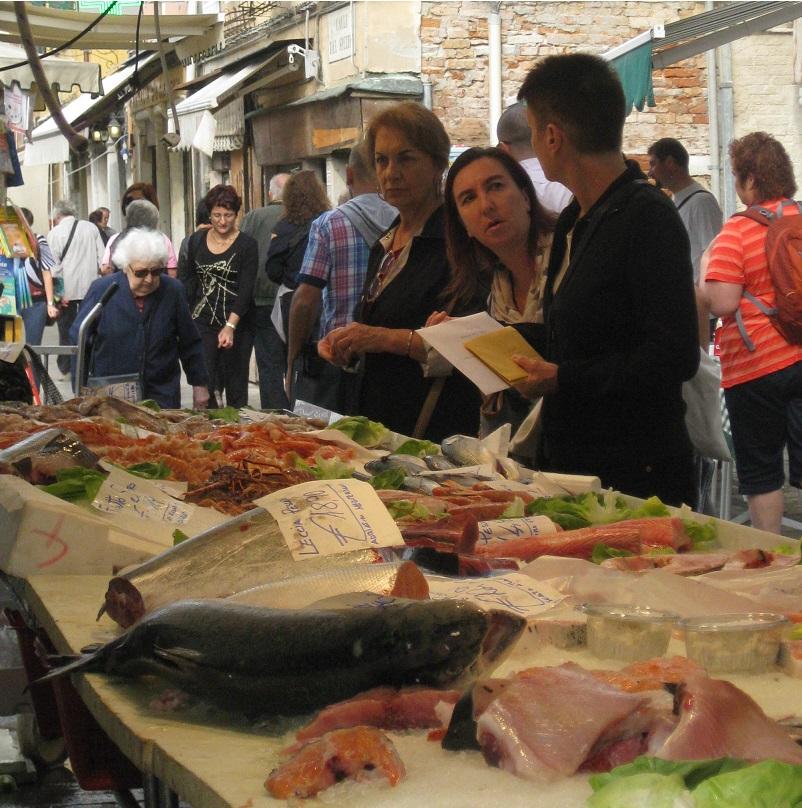 Venetian Fish Market