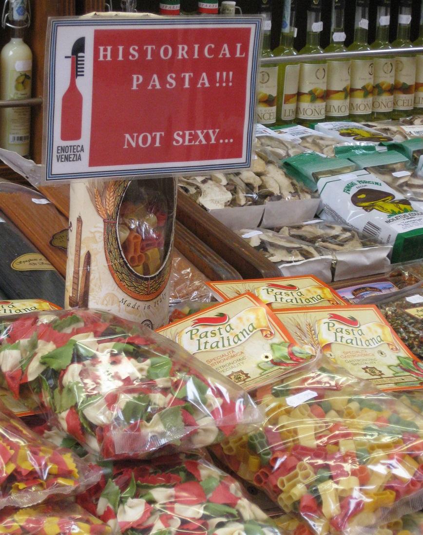 Venetian Pasta Souvenirs
