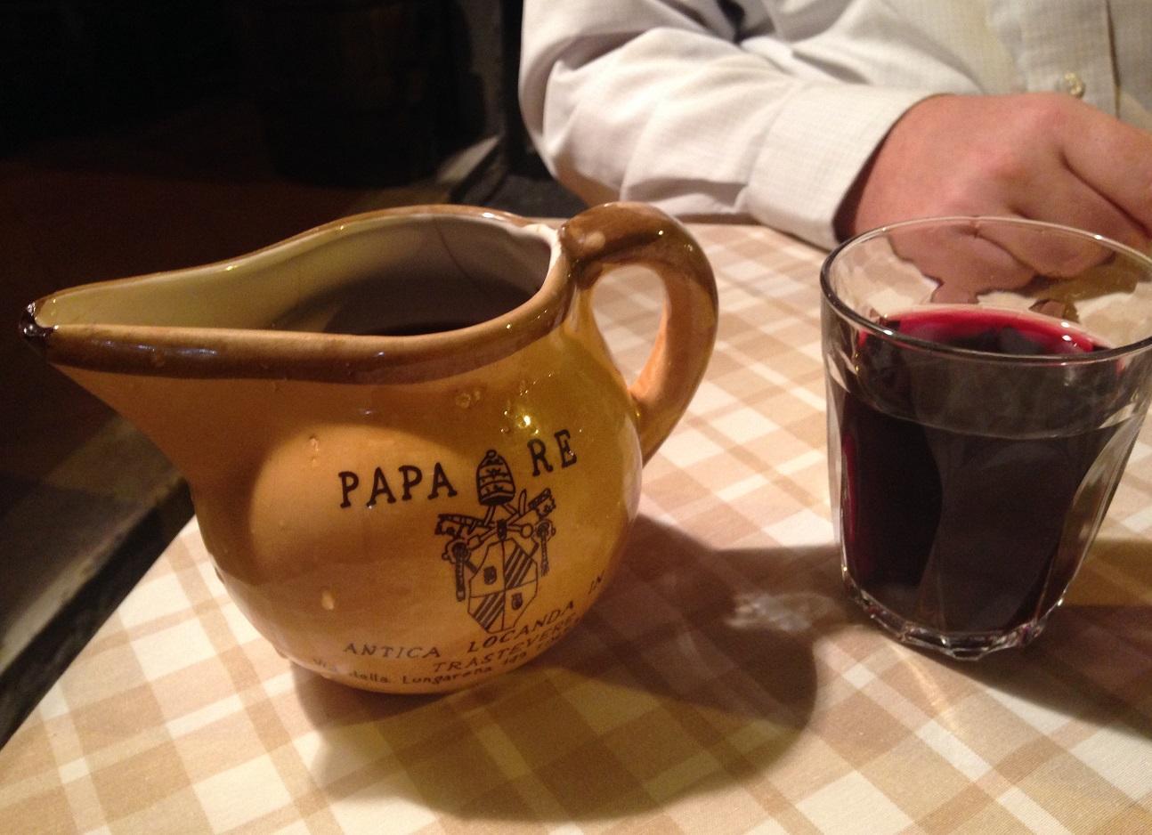Wine at Papa Re