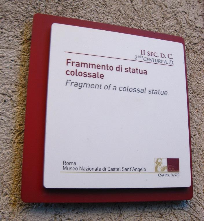 Castel Sant'Angelo Label
