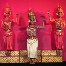 Cambodian Apsara Dancing