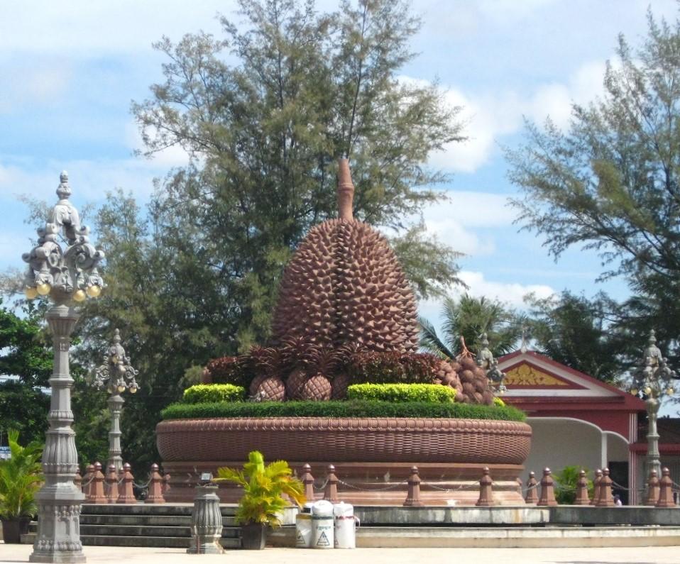 Kampot Durian Statue