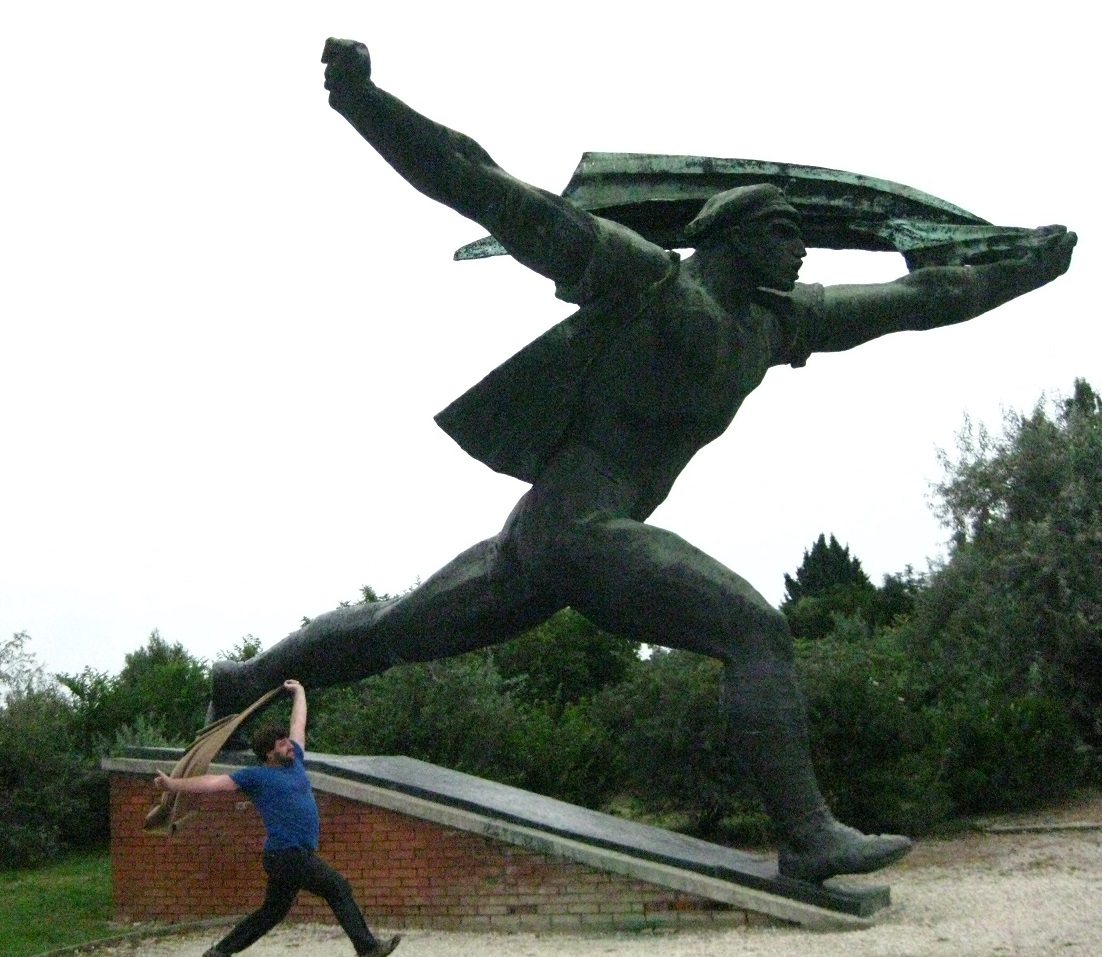 Budapest Statue Imitation