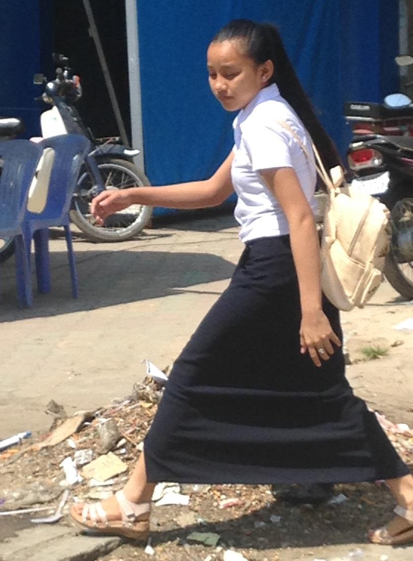 Cambodian School Uniform