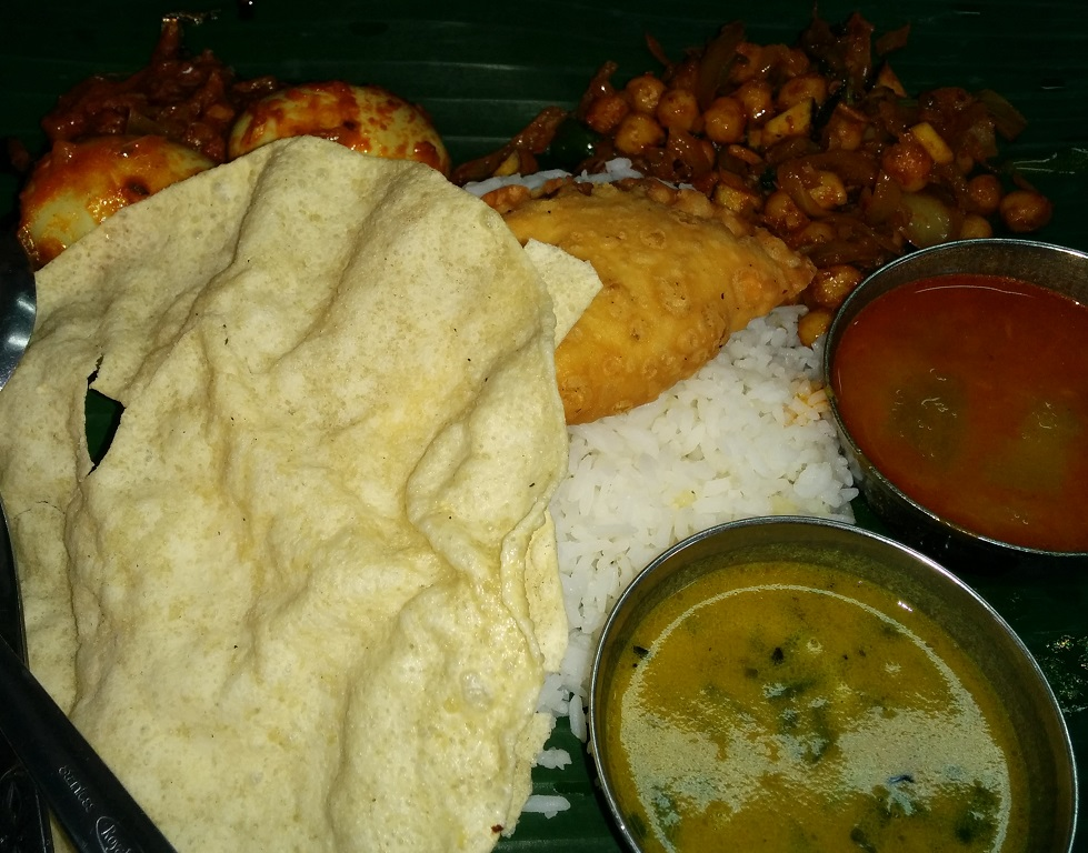 Indian Food at Changi Village