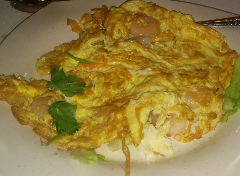 Omelet at Changi Village