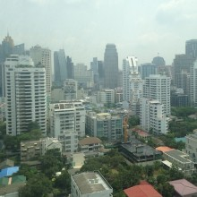 Bangkok View from Sukhumvit