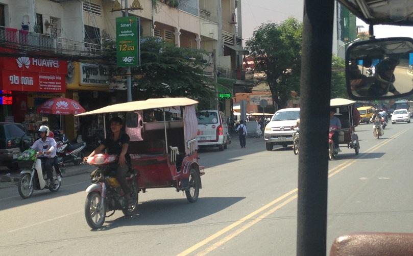 Cambodian Traffic