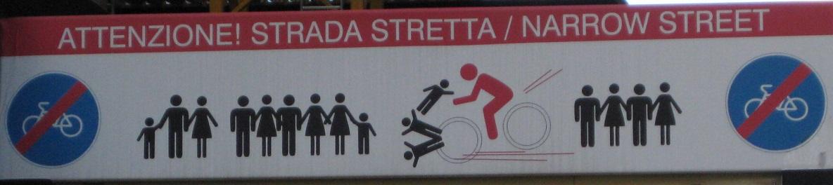 Turin Street Sign