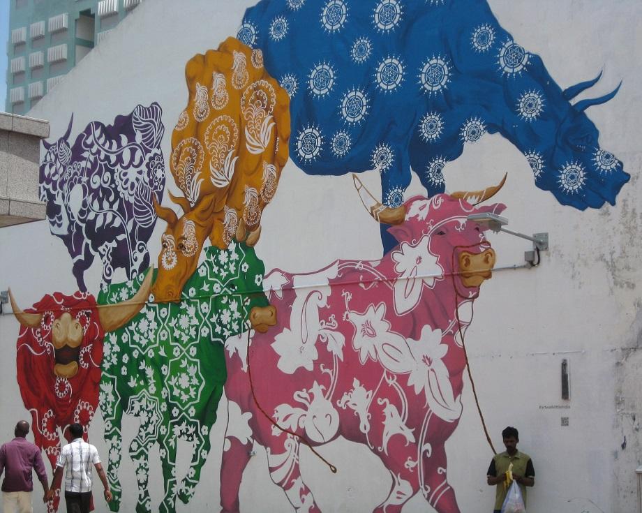 Singapore Cow Murals
