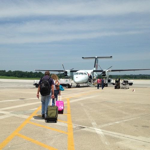 Plane to Toronto
