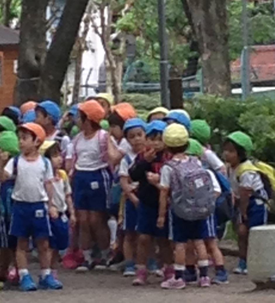 Japanese Preschool Kids